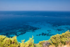 Litorale mediterraneo fotografia stock