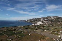 Litorale mediterraneo in Andalusia Fotografie Stock