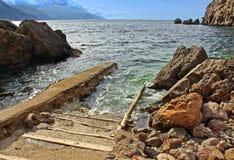 Litorale nordico di Majorca Immagine Stock