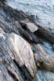 Litorale roccioso Fotografie Stock