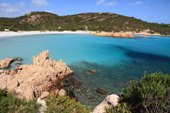 Litorale Sardegna di Smerald Fotografia Stock Libera da Diritti