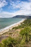 Litorale scenico del Queensland. Fotografie Stock