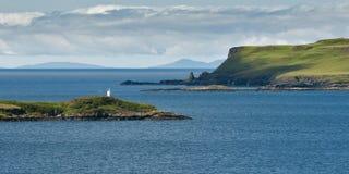 Litorale scozzese all'isola di Skye Fotografie Stock