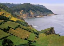 Litorale spagna dell'Asturia Fotografia Stock Libera da Diritti