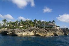 Litorale tropicale Immagini Stock
