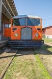 Litorina tour on Estrada de Ferro Madeira-Mamore railroad in Por Stock Photo