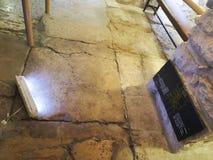 Litostratos chez Via Dolorosa à Jérusalem images libres de droits