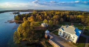 Litouwen, het groene land van Europa royalty-vrije stock afbeeldingen