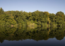 Litouwen, het regionale park van Verkiu Stock Afbeeldingen