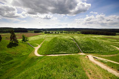 Litouwse historische hoofdkernave Royalty-vrije Stock Afbeeldingen