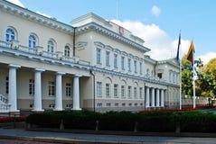 Litouwse voorzitterswoonplaats op 24 September, 2014 stock afbeeldingen