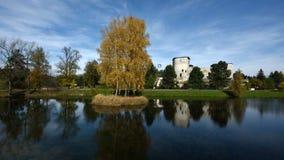 Litptovsky Hradok Grand Castle, Liptov Region, Slovakia Stock Images