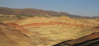 Lits fossiles de jour de John - collines peintes, Orégon, Etats-Unis Photos stock