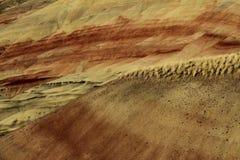 Lits fossiles de jour de John - collines peintes, Orégon, Etats-Unis Photos libres de droits