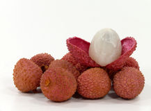 Litschi-plums Royalty Free Stock Image