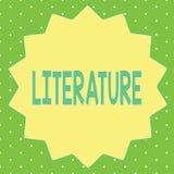 Littérature des textes d'écriture de Word Le concept d'affaires pour des écritures écrites de livres de travaux a édité sur un su illustration libre de droits