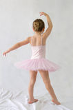 Littel girl Ballerina. Little girl Ballerina dancing in a studio stock photography