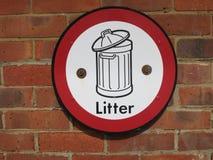 Litter Stock Photography
