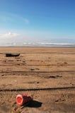 Litter on the Beach Stock Photos