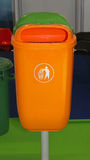 Litter bin Stock Images
