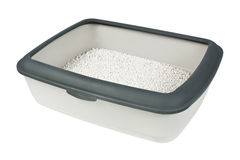Litter box Stock Photo