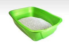 Litter Box Royalty Free Stock Images