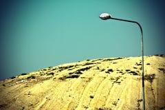 Litter dune. A dune of litter in landfill in Lithuania Stock Image