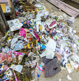 Litter and garbage in Jodhpur Royalty Free Stock Image