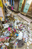 Litter and garbage in Jodhpur Royalty Free Stock Photo