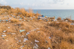 Litter Problem in India Royalty Free Stock Photography