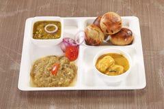 Litti Chokha - Bihar traditional food.  Stock Image
