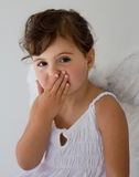 Little ängel Arkivbild