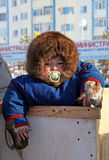 Little aboriginal of Siberia Royalty Free Stock Photos