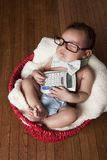 Little Accountant Stock Photography