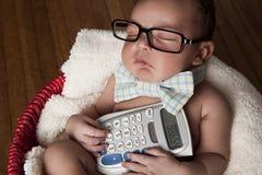 Little Accountant Stock Photos