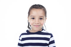 Little african american boy stock image