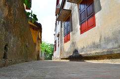 Little alley in Hoian 8 Royalty Free Stock Images