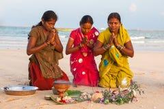 Little Andaman, India - Jan 29, 2013: Women. royalty free stock photos