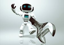 Little android robot