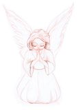Little angel 01 Royalty Free Stock Image