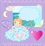 The little angel Stock Image