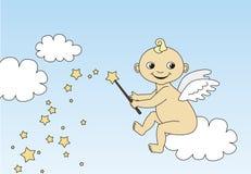 Little angel Stock Photography