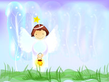 Little angel royalty free illustration