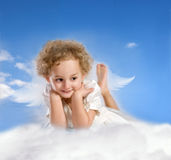 Little angel Royalty Free Stock Photo