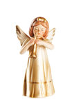 Little angel Christmas figure decoration isolated on white backg Stock Image
