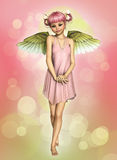 Little Angel 3d CG Stock Photography