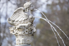 Little angel, Fountains and gardens of the palace of Aranjuez in Stock Photos