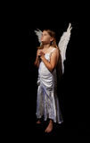 Little angel girl Royalty Free Stock Image