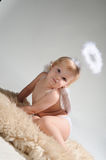 Little angel girl Royalty Free Stock Photos