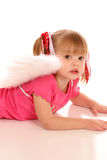 Little Angel Girl2 Royalty Free Stock Images
